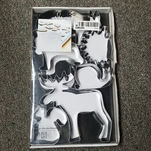 IKEA Drommer set 6 Animal Cookie Cutters
